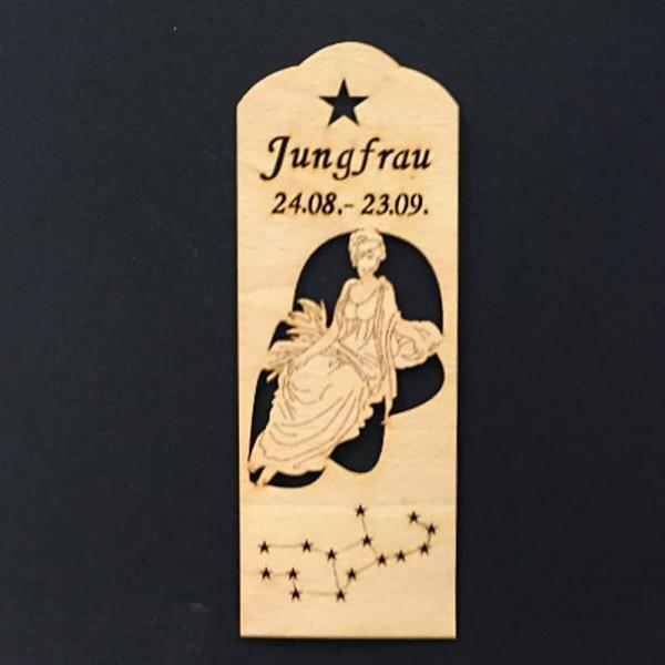 Lesezeichen Sternzeichen Jungfrau