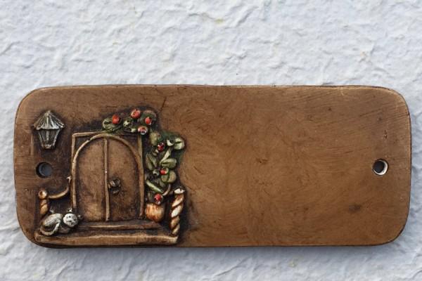 """Türschild """"kleine Tür"""""""