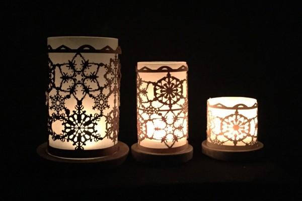 Lantern Schneekristalle
