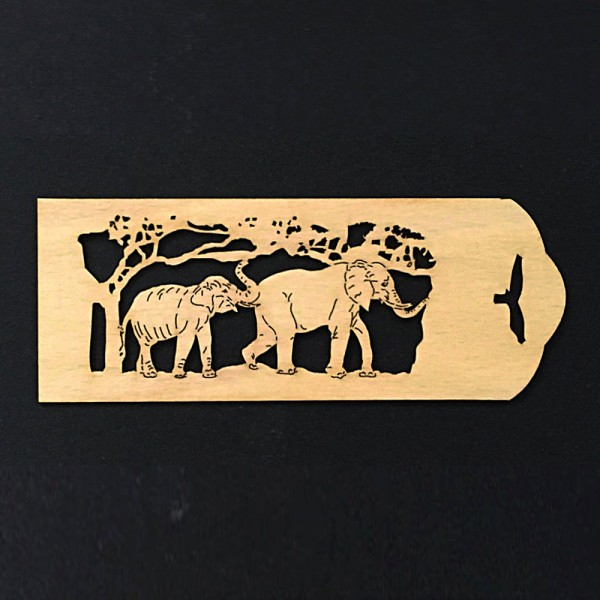 bookmark elephants