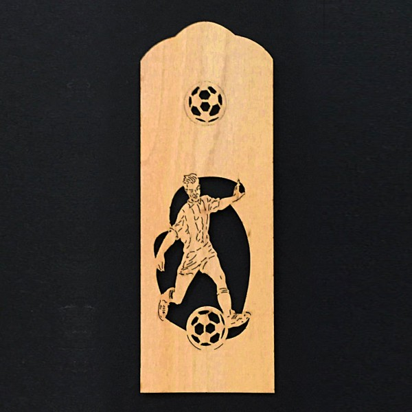 Bookmark soccer player