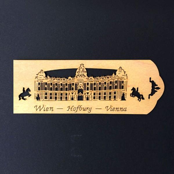 Lesezeichen Wien Hofburg