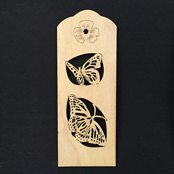 "Bookmark ""Butterflies"""