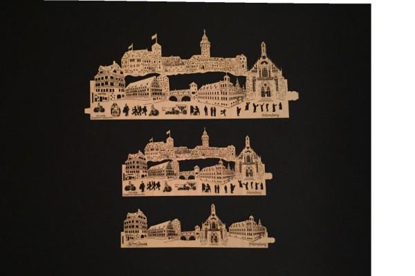 Ersatz Furnierholz Skyline Nürnberg