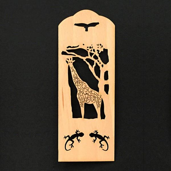 Lesezeichen Giraffe