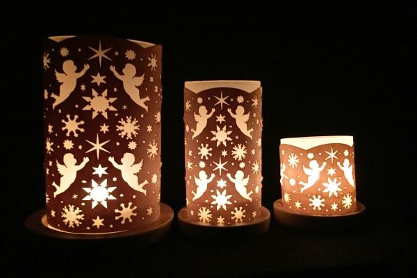 """Lantern """" Engel und Sterne"""""""