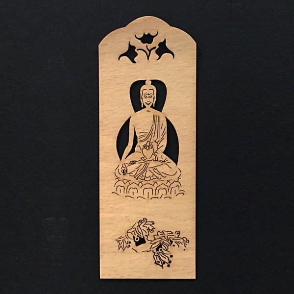 Lesezeichen Buddha