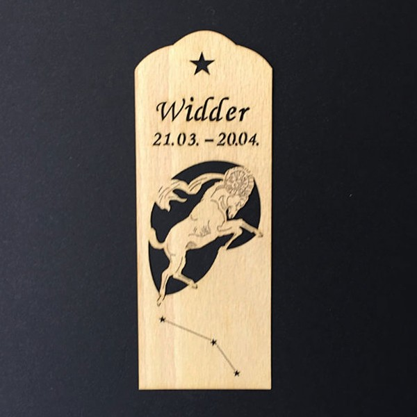 Bookmark zodiacs Widder ( Aries )