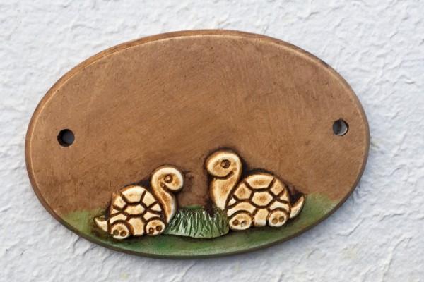 "Türschild ""Schildkröten"""