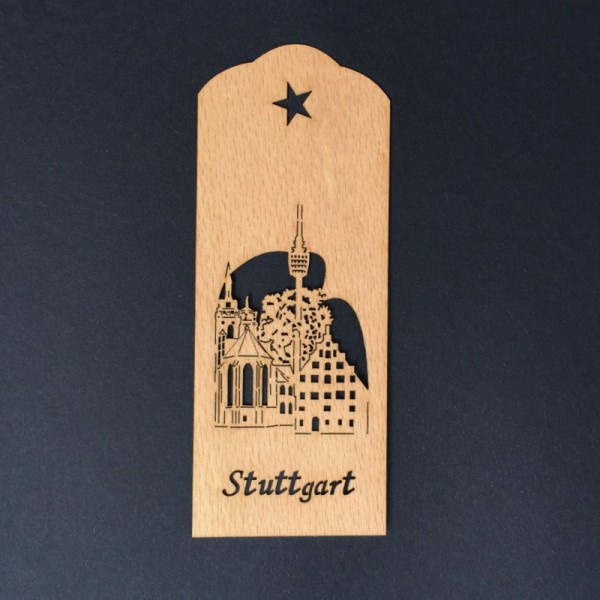 Lesezeichen Stuttgart Fernsehturm