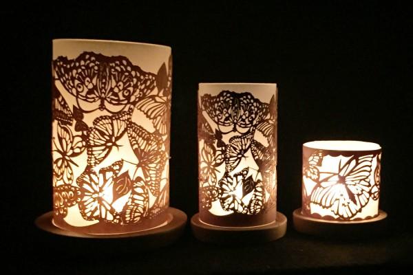 """Lantern """"Butterflies"""""""