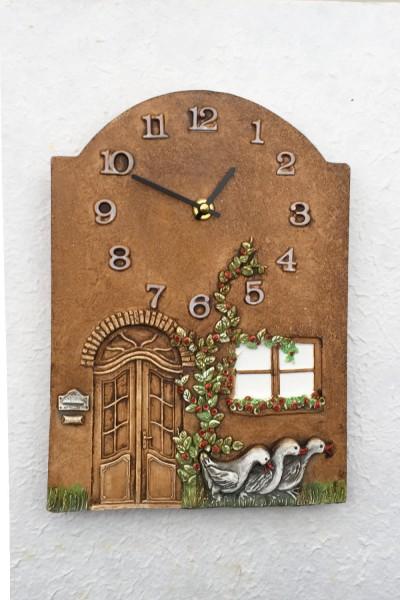Wall Clock Geese