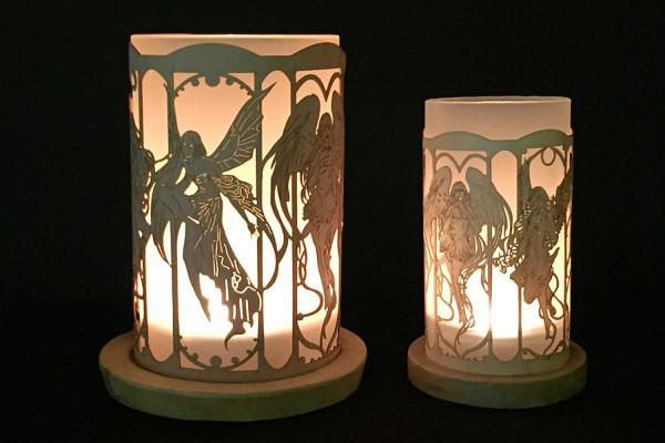 Windlicht Elfen