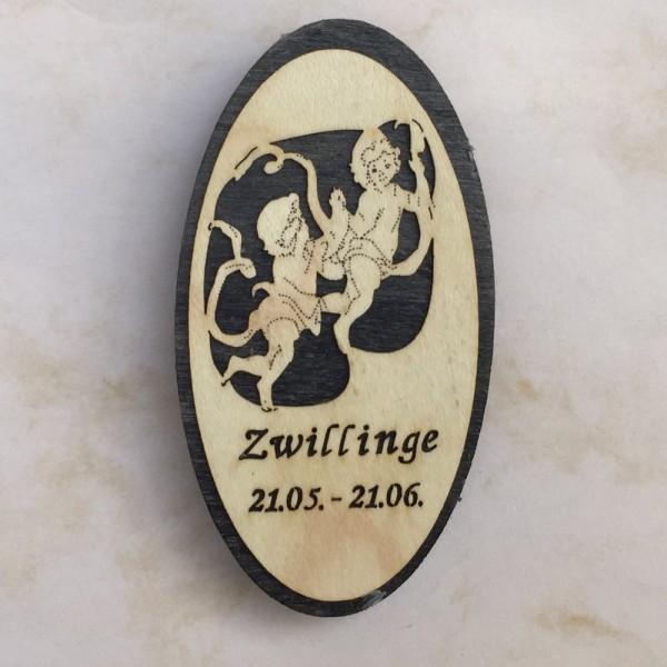 Magnet Zodiacs Zwilling (Gemini)