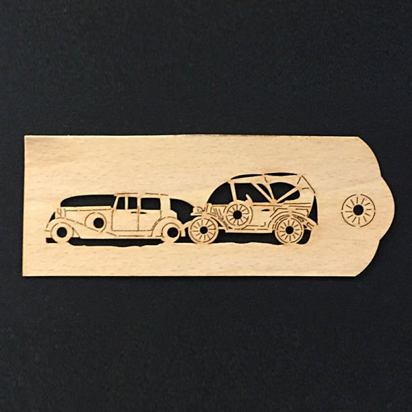 "Bookmark ""Old car"""