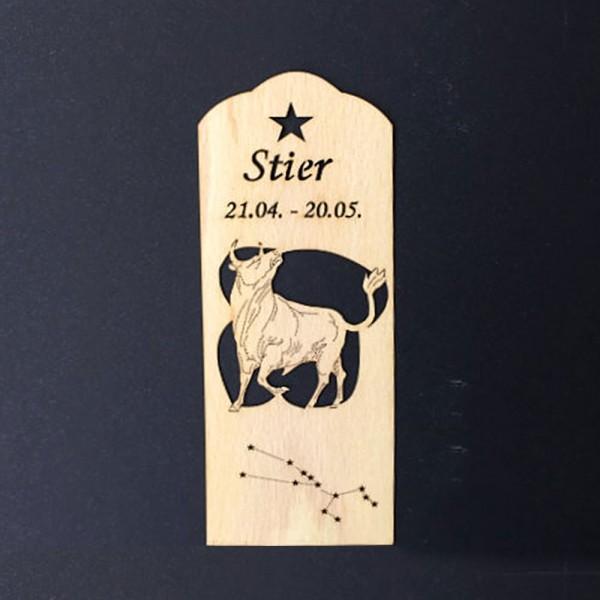 Lesezeichen Sternzeichen Stier