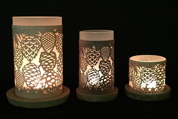 Lantern pine cones