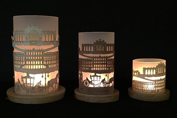 Windlicht Schloss Schönbrunn mit Gloriette